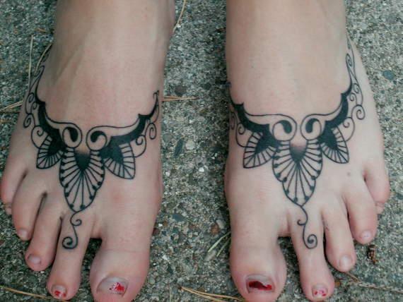 Voet Tattoo Ideeën voor Meisjes voor meisjes