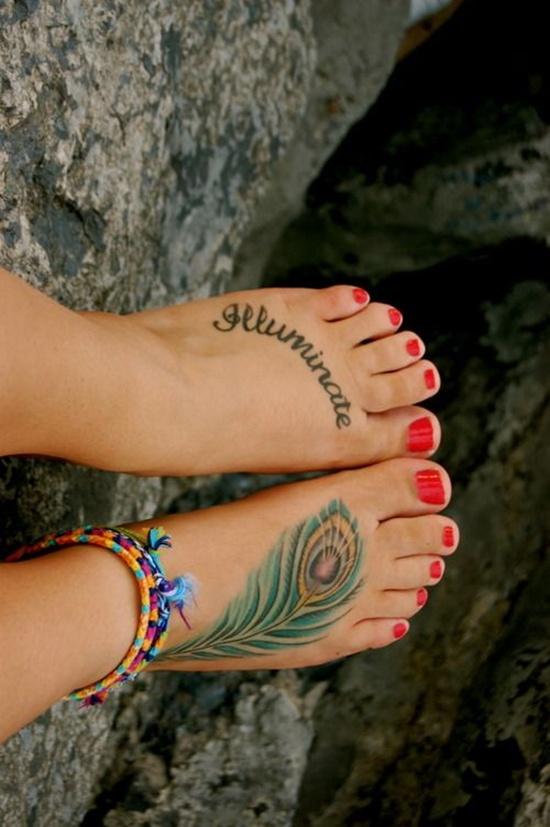 30 Cute Foot Tattoo Ideas for Girls