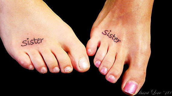 Foot Tattoo Ideas for Girls