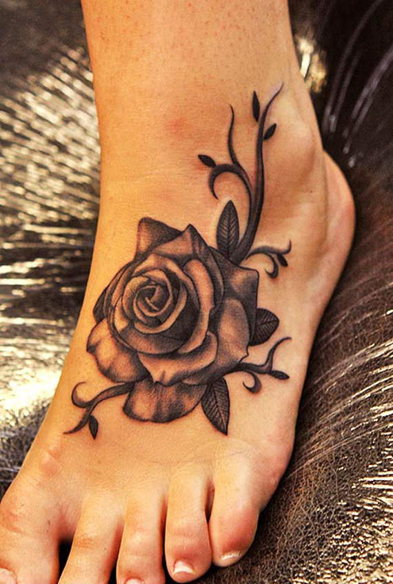 30 schattige voet tattoo ideeën voor meisjes Tattoos  Leuke tatoeages