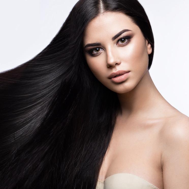 salon posters extensions poster hairstyles haar meisje mooi haarverlangerung hamburg modell klassieke gezicht volkomen samenstelling vlot schoonheid straight ragazza salons