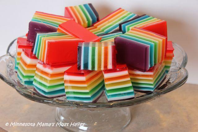 15 eenvoudige Rainbow-recepten die u thuis kunt maken Voedsel  alcohol