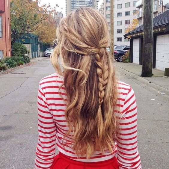 12 Easy Hairstyles For Any And All Lazy Girls