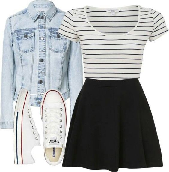 16 Best Outfit Ideas For School - Cute Back to School Outfits 2017 - 2018