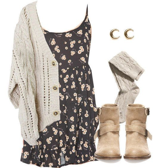 16 Cute Outfit Ideas For School