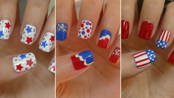 20+ Patriotic Nail Art Designs To Try At Your Fourth Of July Party