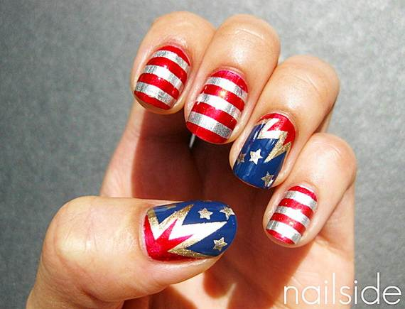 26 patriotic nail art designs to try at your fourth of july party 26 patriotic nail art designs to try at your fourth of july party pretty designs solutioingenieria Images