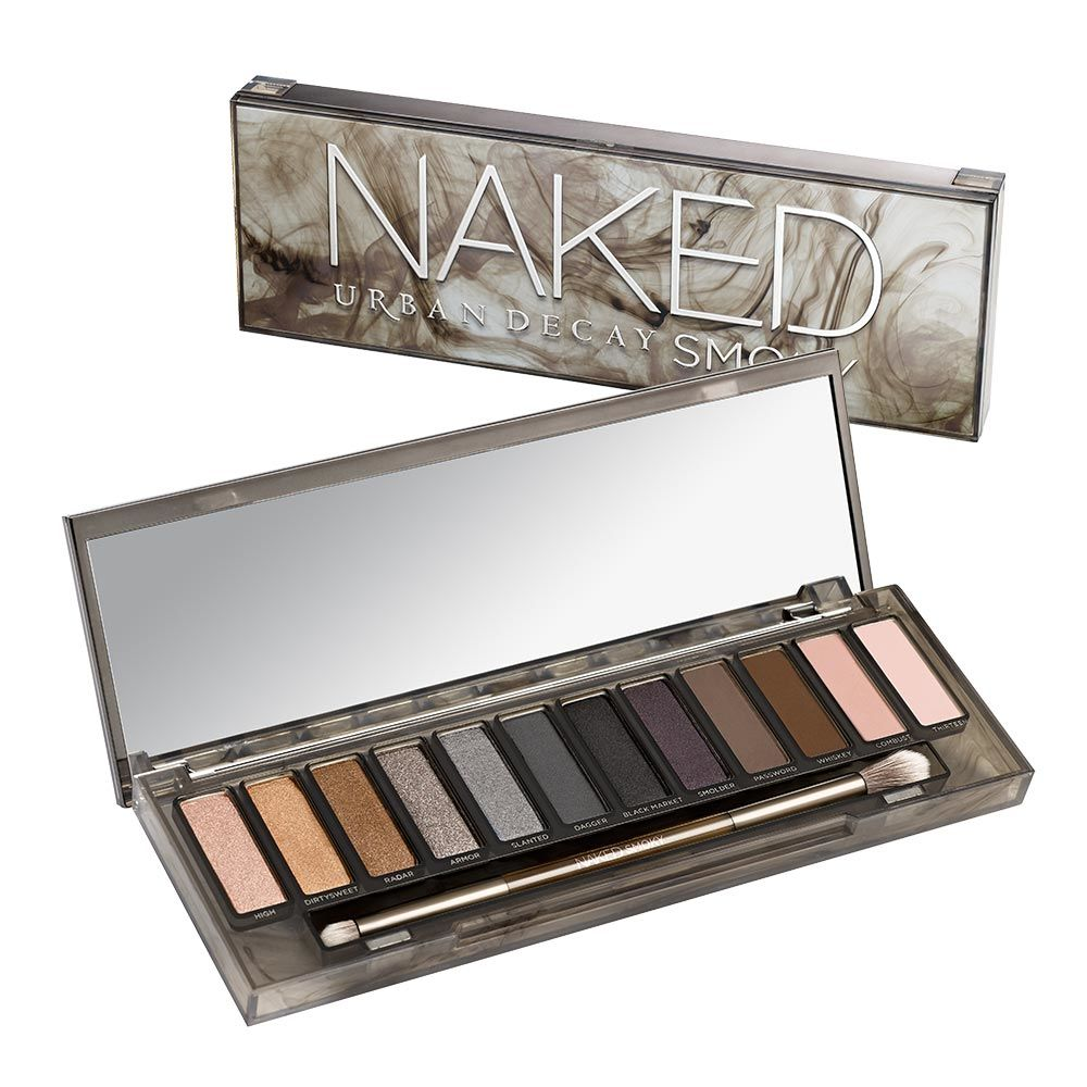Urban Decay Naked Smoky - professional eyeshadow palettes