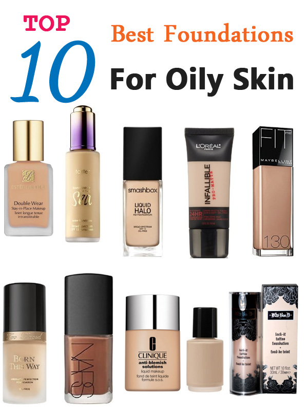 Top 10 best foundations for oily skin pretty designs - Best kind of foundation pict ...