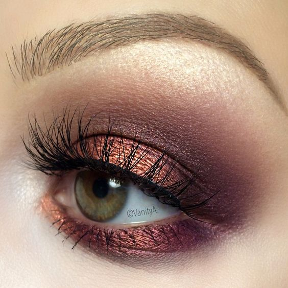 Flawless Metallic Makeup