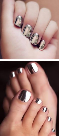 metallic-chrome-silver-wraps-metallic-nails