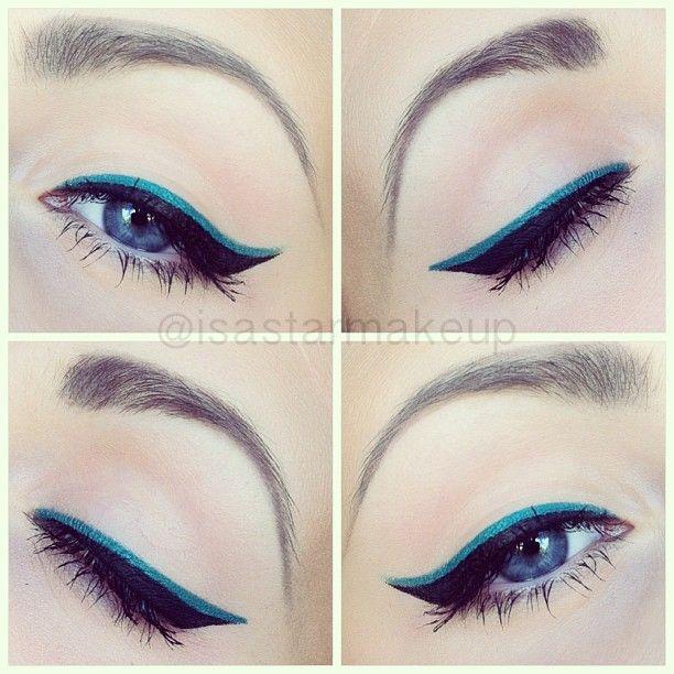 Image result for Colorful Eyeliner
