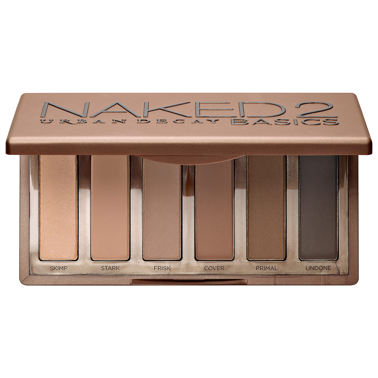 Urban Decay Naked 2 Basics - best affordable eyeshadow palettes