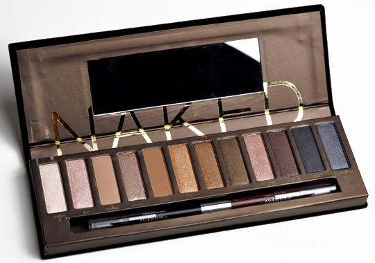 Urban Decay Naked 1 - best eyeshadow palettes for brown eyes