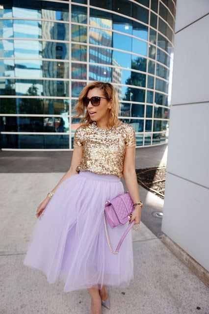 9417bbc2e 12 Perfect Outfits That Show How To Rock A Tulle Skirt - Pretty Designs