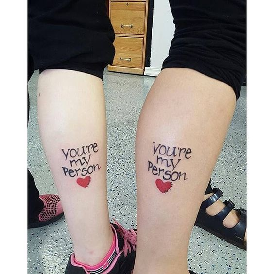 15 Best Friend Tattoos For You And Your BFF