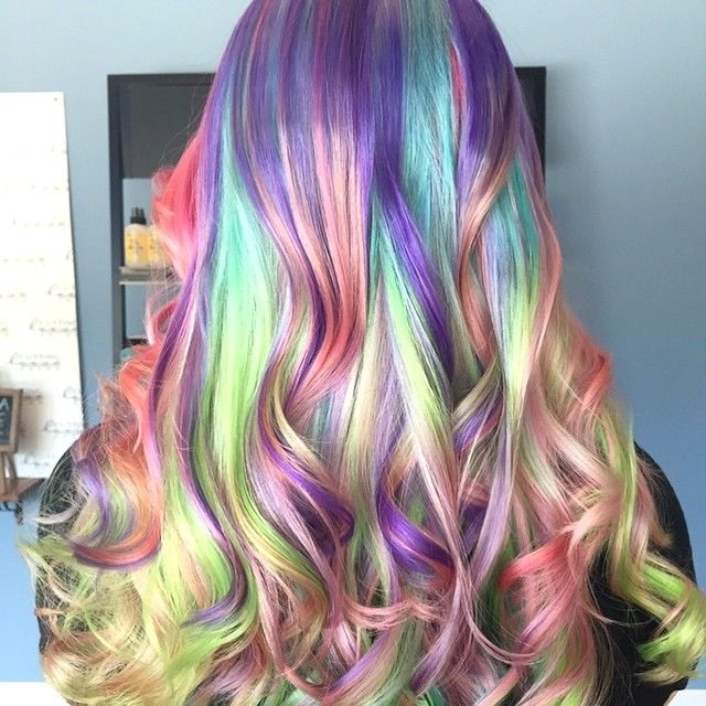 15 Rainbow Hairstyles You Will Want Right Now