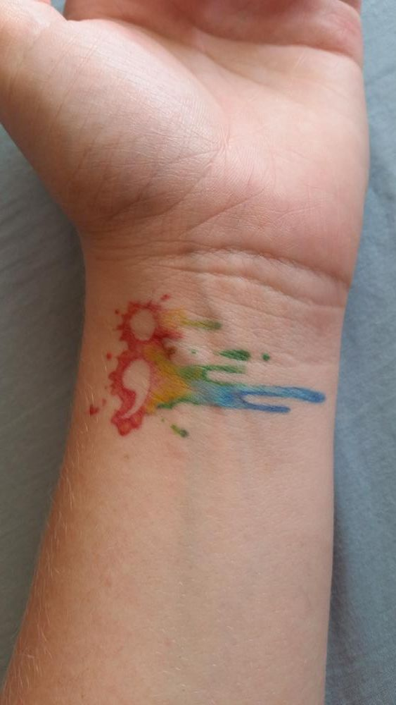 15 Watercolor Tattoos For Females