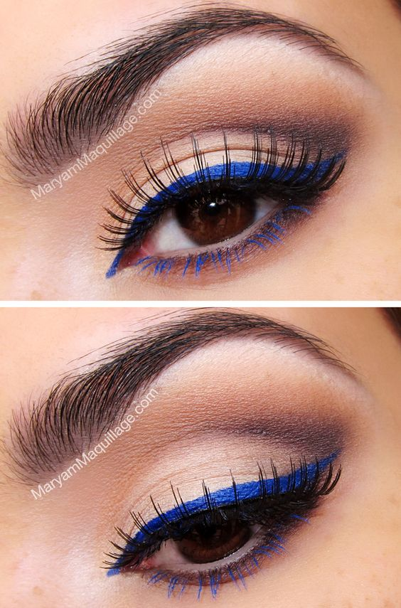 6 Tips On How To Rock Colored Eyeliner Colorful Eyeliner Ideas