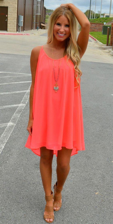 Backless Summer Dress via