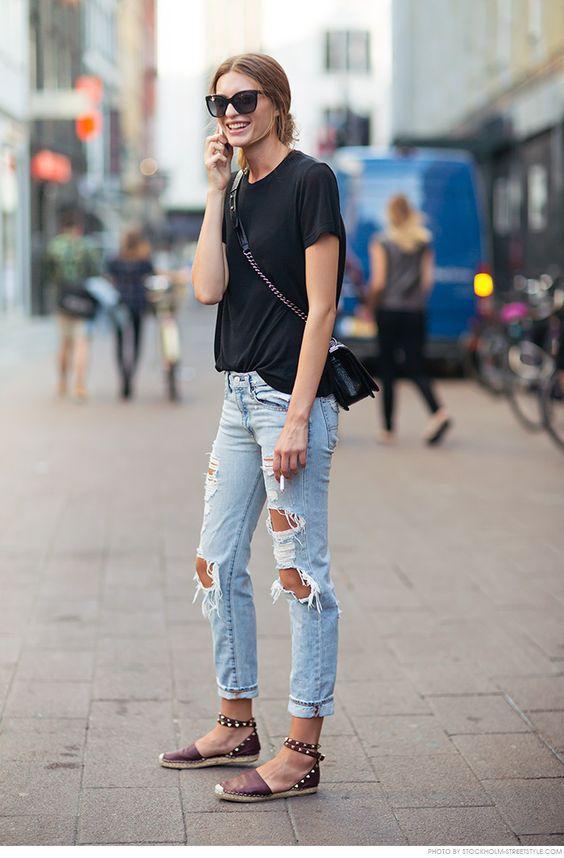 10 manieren om je Espadrille-schoenen te dragen Outfits  schoenen manieren espadrille dragen