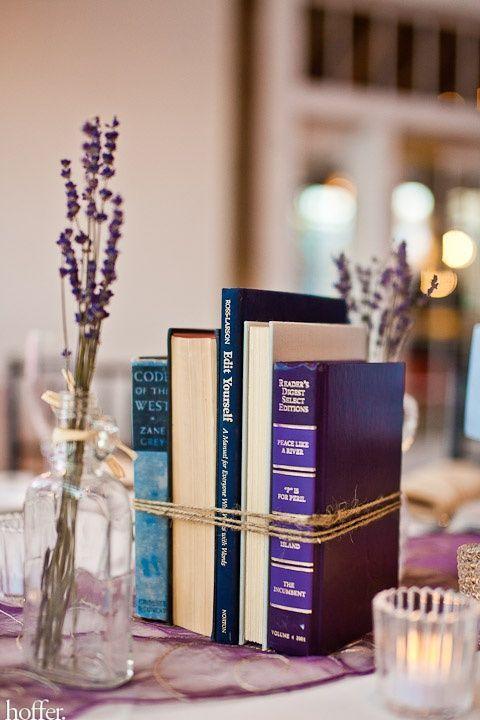 23 Boek-geïnspireerde ideeën voor het decoreren van een bruiloft anderen  bruiloft ideeën