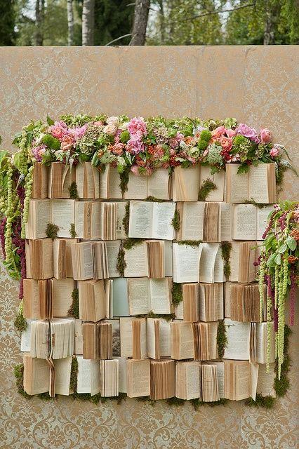 Book Wall via