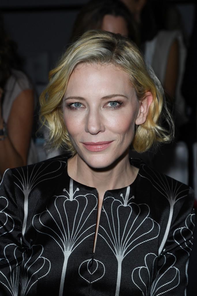 Cate Blanchett Blonde Bob via stylebistro
