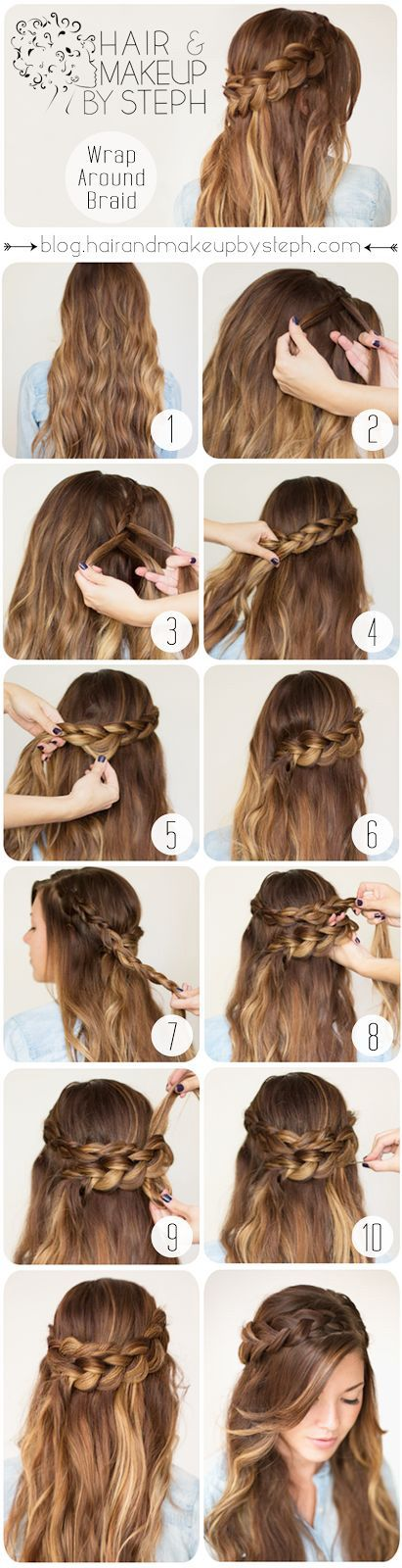 Cinderella Wrap Round Hair via