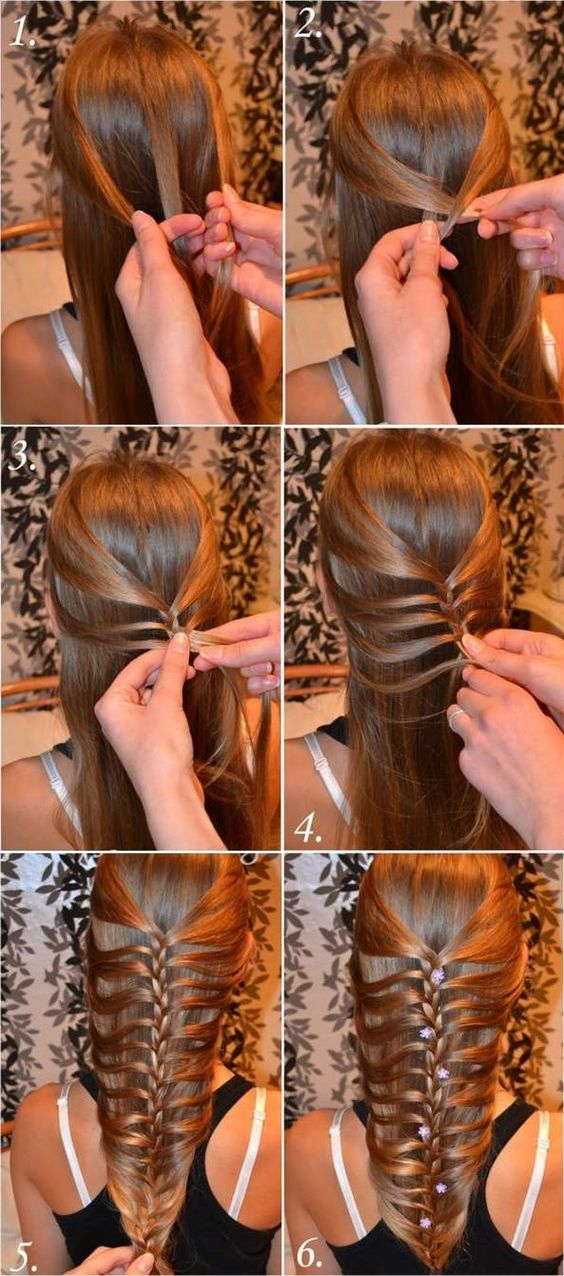 Creative Wrap Braid via