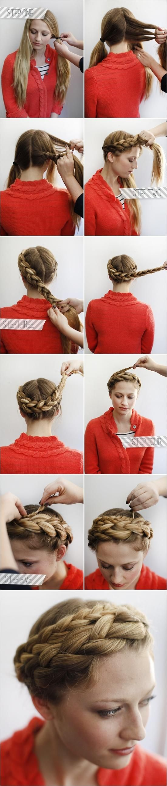 Crown Braid via