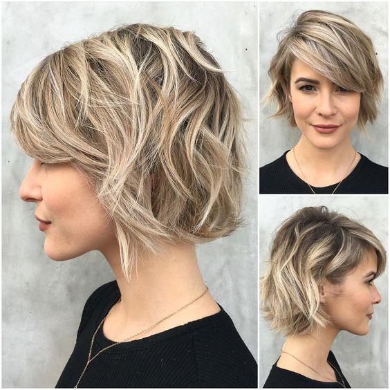 19 Chic Simple Easy Short Hairstyles voor elke meid Kapsels  Bob