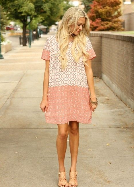 Cute T-shirt Dress via