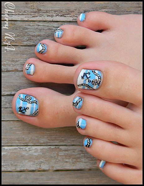 Cute Toe Nails via
