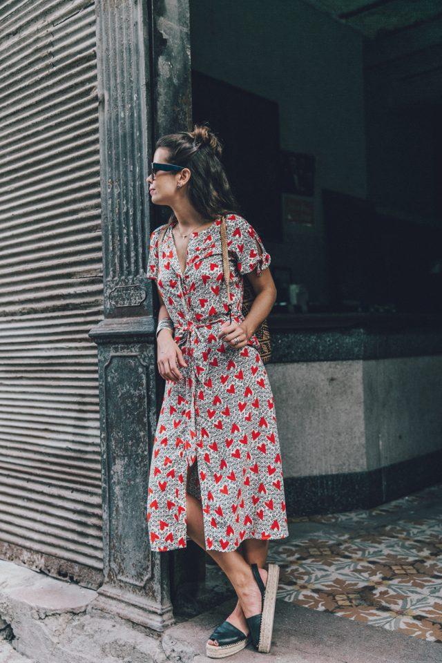 Dress with Heart Shapes via