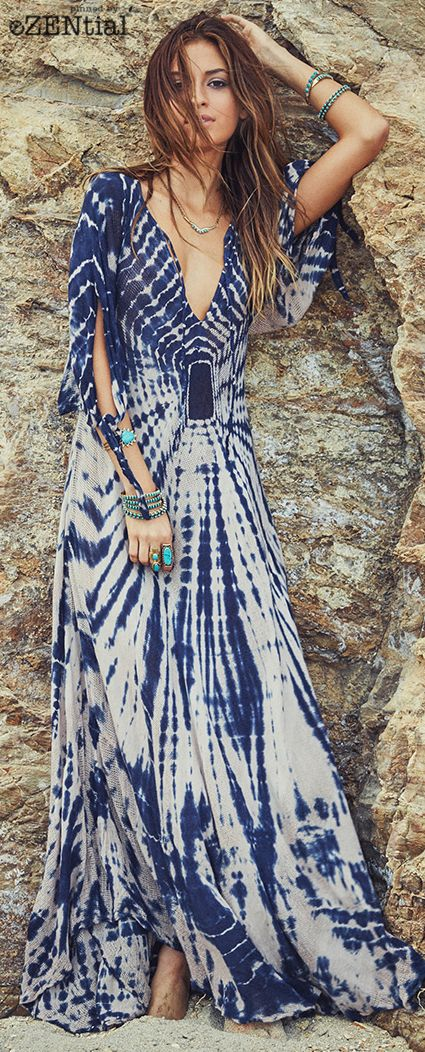 Feather-inspired Dress via