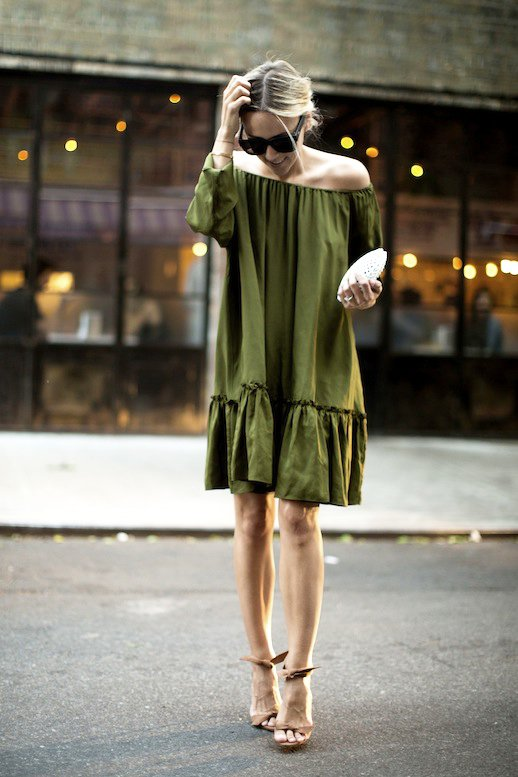 Green Sundress via