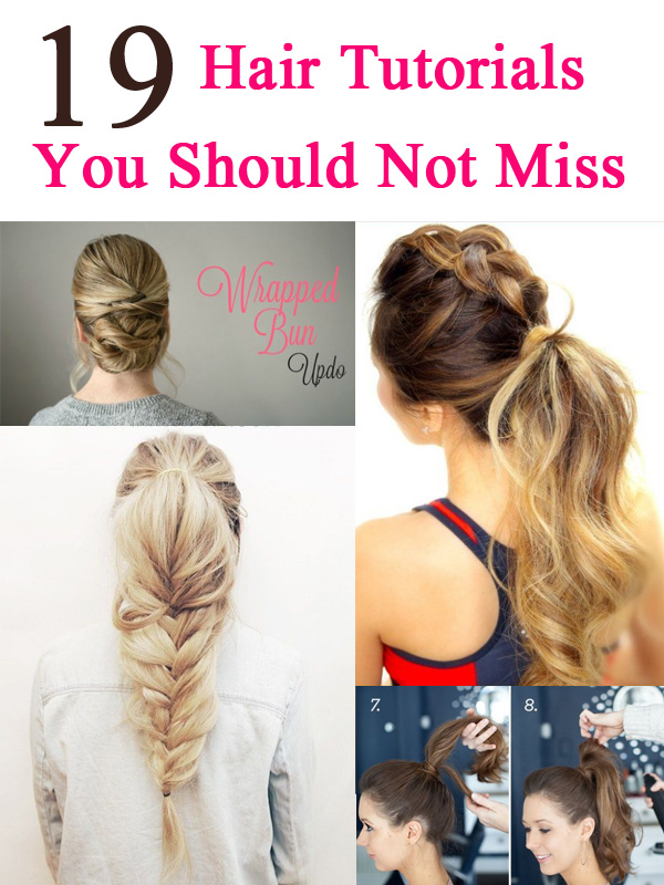 19 Easy Hair Tutorials For Summer