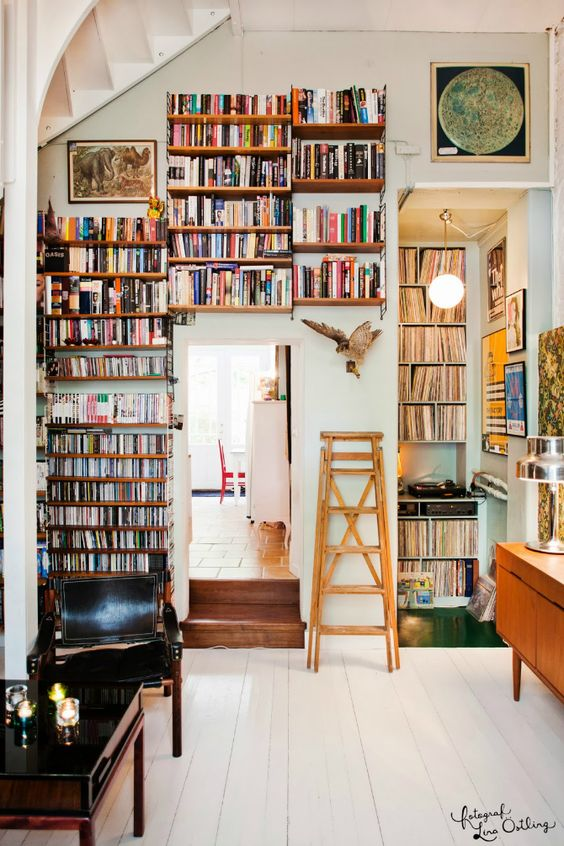 Home Library Design: 23 Book-inspired Wedding Decorating Ideas