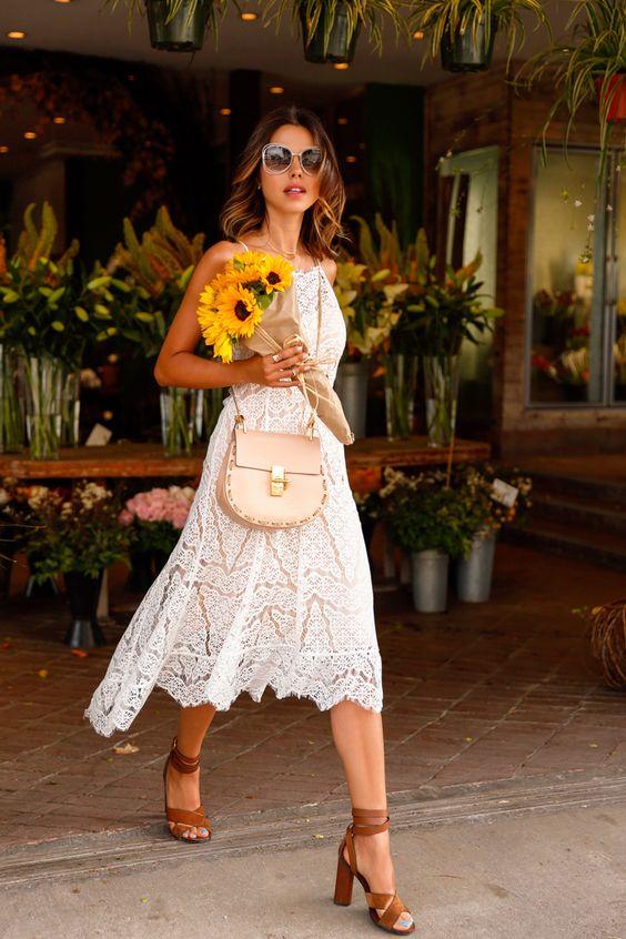 Lace Dress via