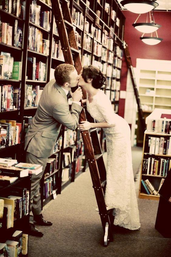Library Wedding via