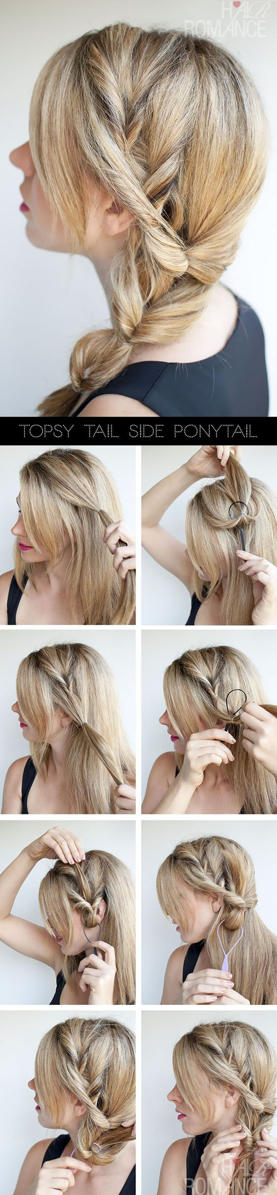 Lose Wrap Around Braid via