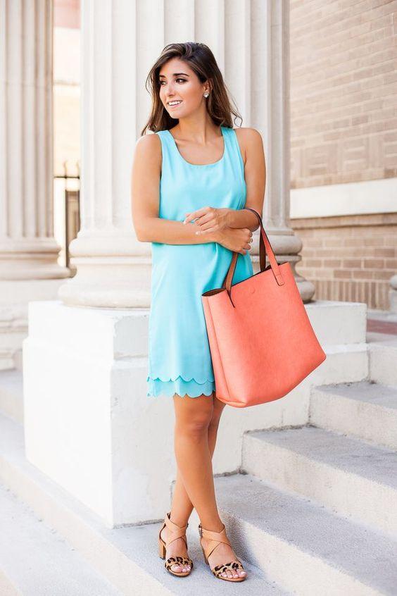 Pale Blue Dress via