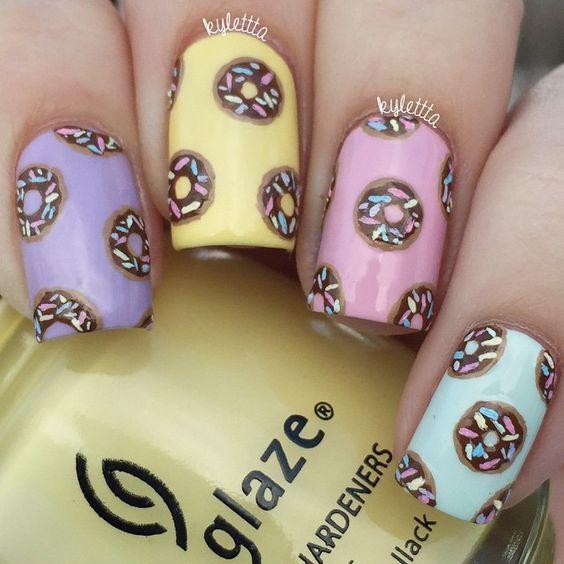 Pastel Nails via