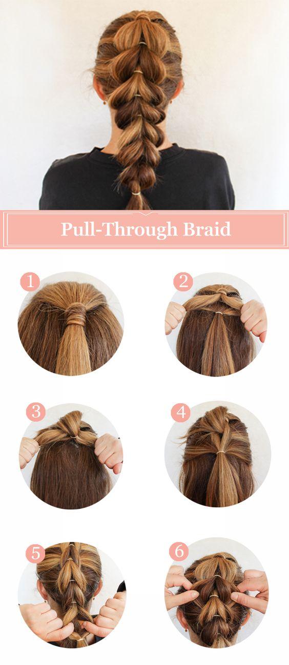 Pull-through Braid