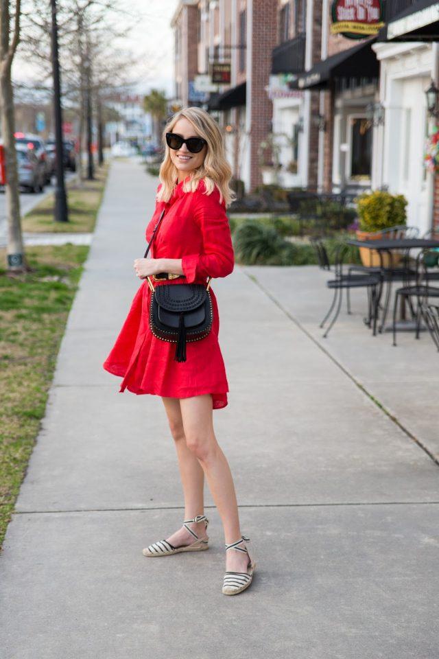 Red Dress via