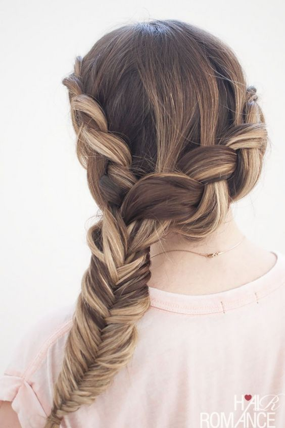 Wrap Around Braid Via