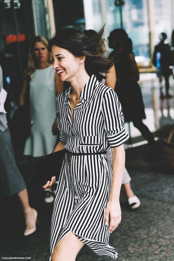 Sassy Striped Dress via