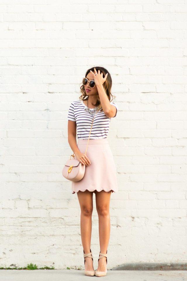 Scalloped Skirt via