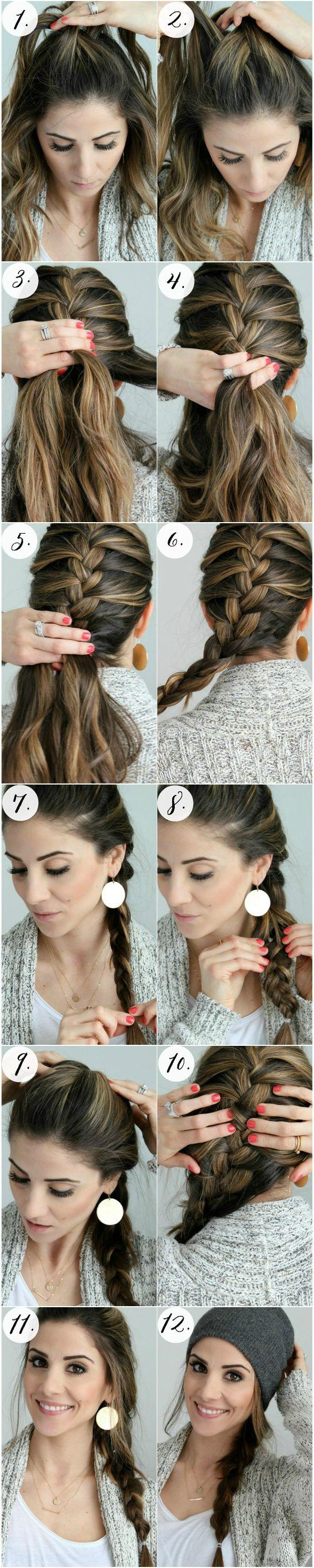 Simple French Braid